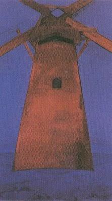 Moinho Vermelho - Piet Mondrian e Suas Pinturas | Criador do Neoplasticismo
