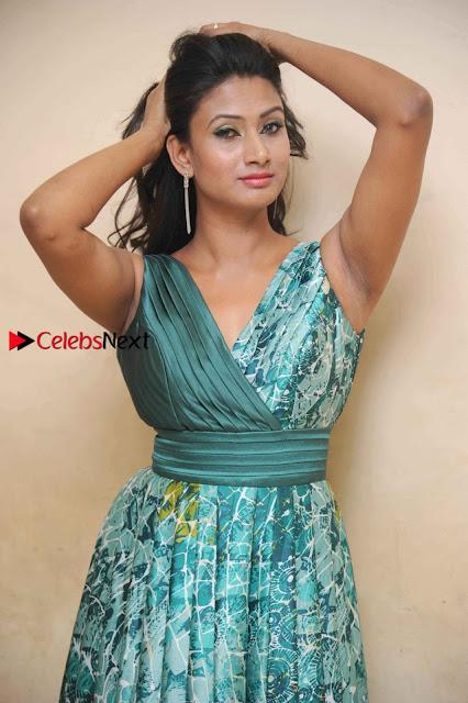 Actress Vinaya Pos at Haalu Thuppa Movie Press meet  0004.jpg