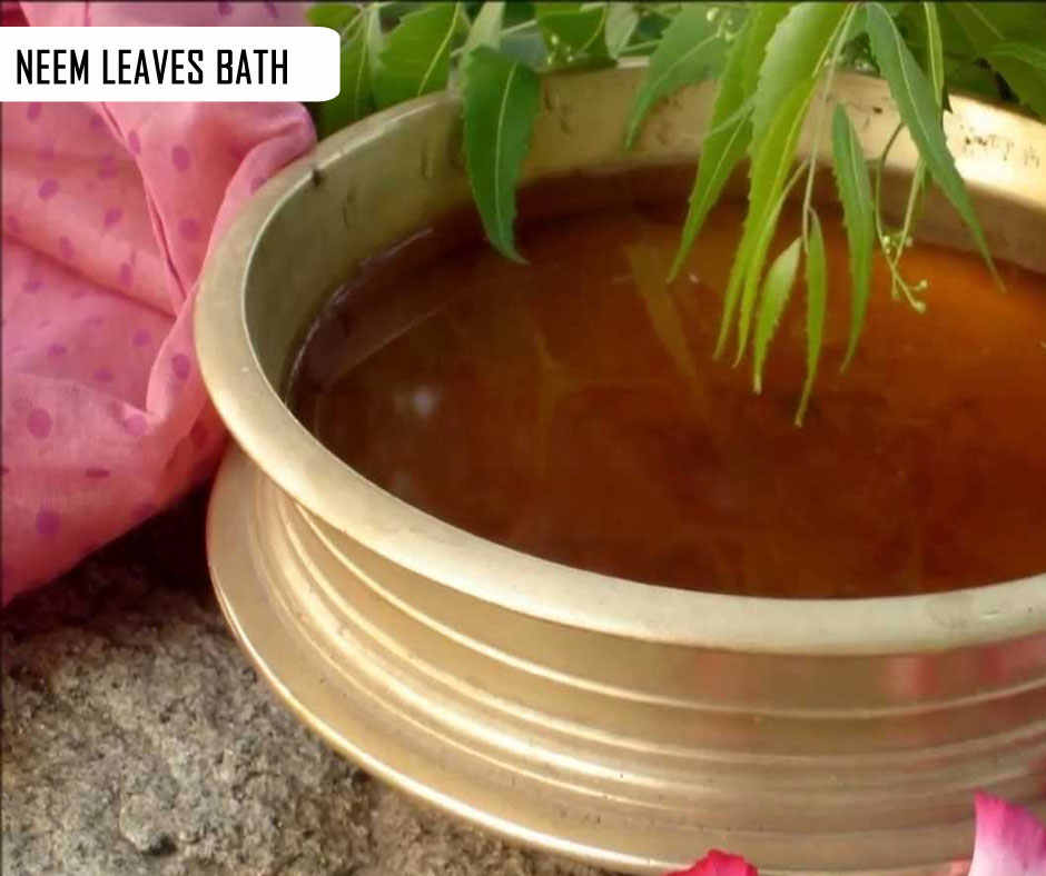 Neem Leaves Bath
