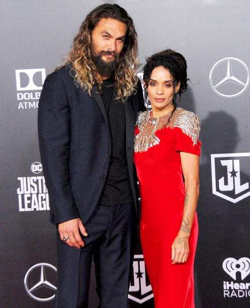 Jason Momoa And Lisa Bonet: Jason Momoa And Lisa Bonet Attend First Red Carpet After