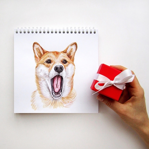 10-I-am-bored-now-Valerie-Susik-Валерия-Суслопарова-Cats-and-Dogs-Interactive-Animal-Drawings-www-designstack-co