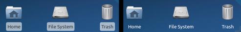 Melhorando a aparência dos ícones da área de trabalho no Xubuntu!