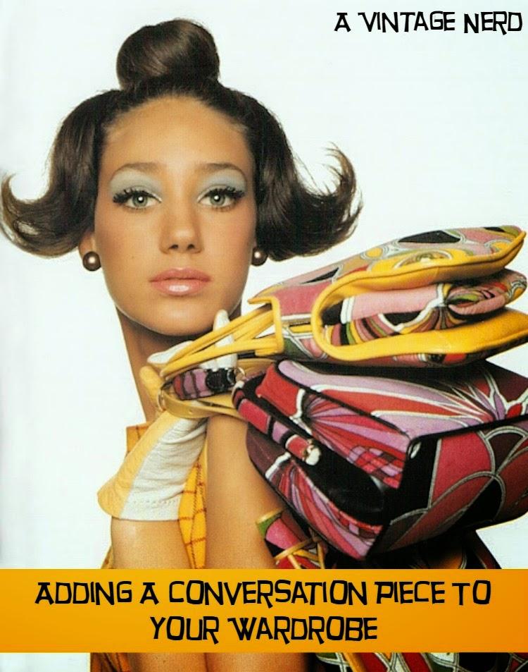 A Vintage Nerd, Vintage Nerd, Retro Fashion Blog, Vintage Lifestyle Blog, Conversation Pieces