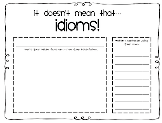 First Grade Facts: Idioms