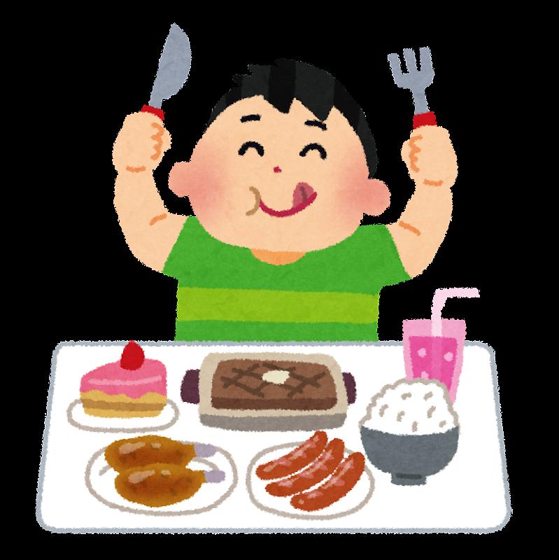 「食いしん坊 イラスト」の画像検索結果