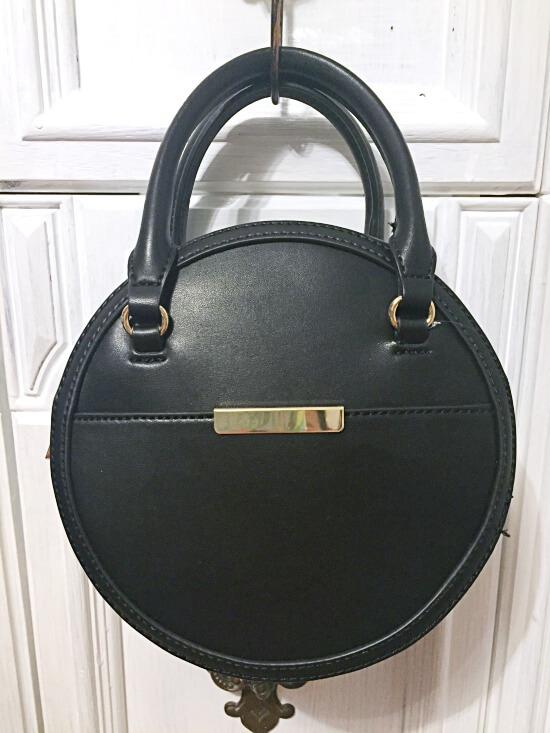 Target A New Day black circle handbag