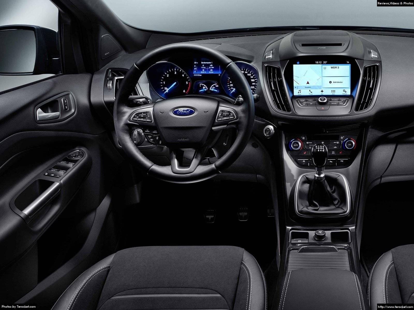 Hình ảnh xe ô tô Ford Kuga 2017 & nội ngoại thất