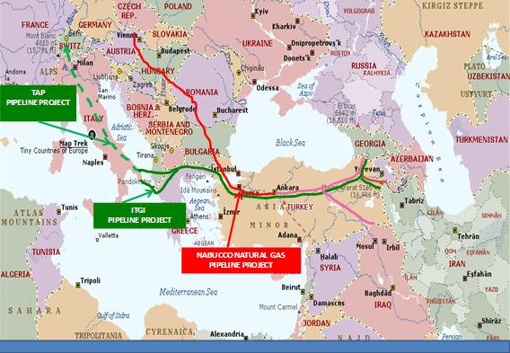 Η Ήπειρος στη νέα μελέτη για την κατασκευή του Ελληνοϊταλικού αγωγού φυσικού αερίου