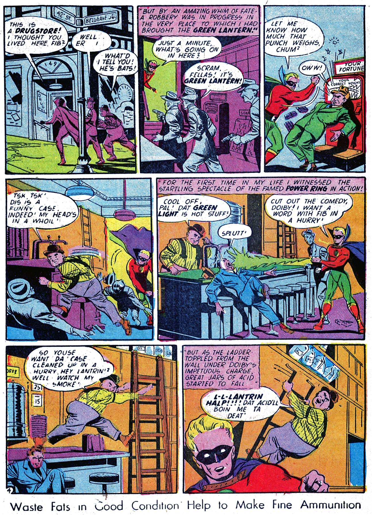 Read online All-American Comics (1939) comic -  Issue #59 - 6