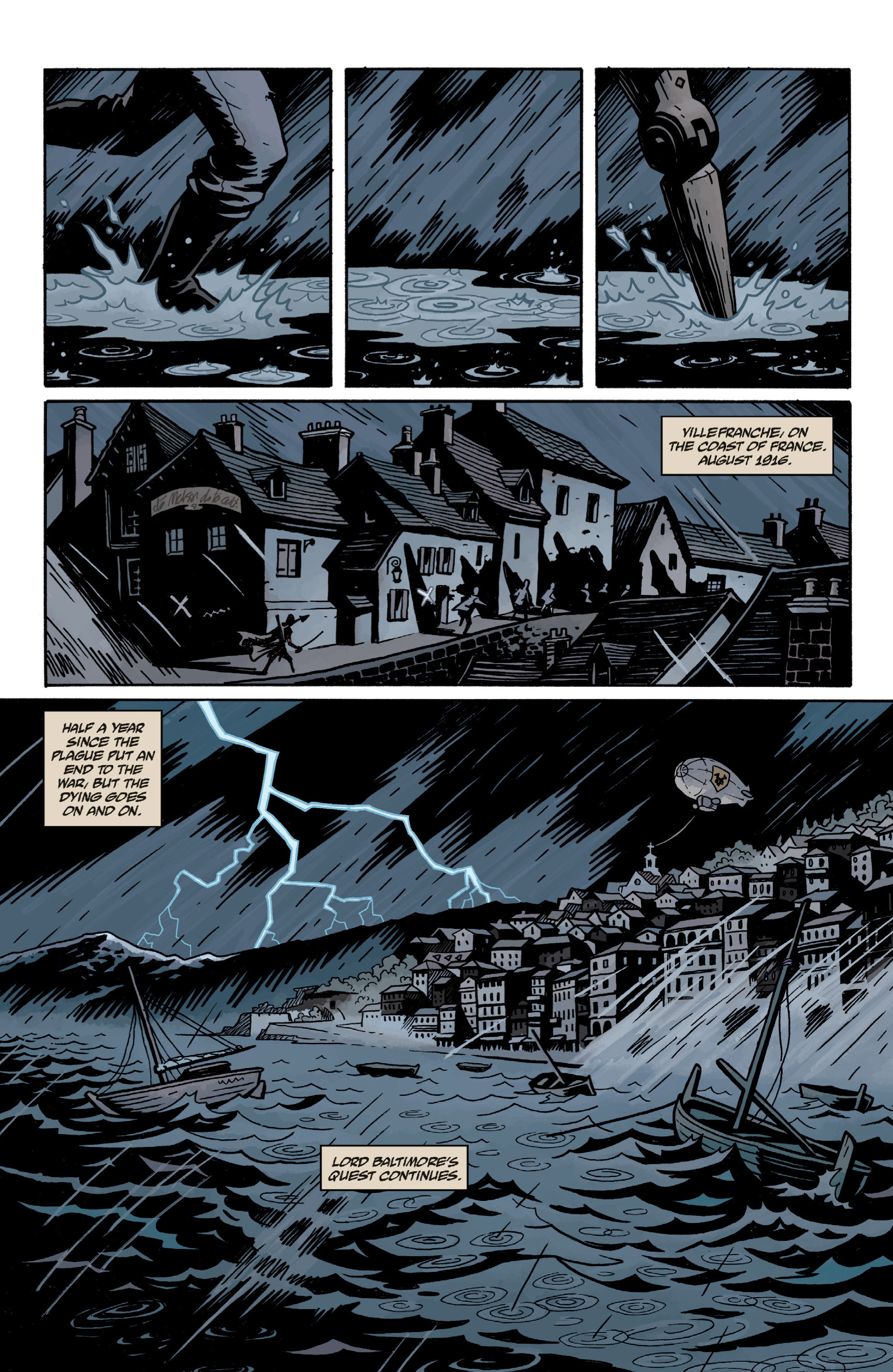 Read online Baltimore: The Plague Ships comic -  Issue # TPB - 11