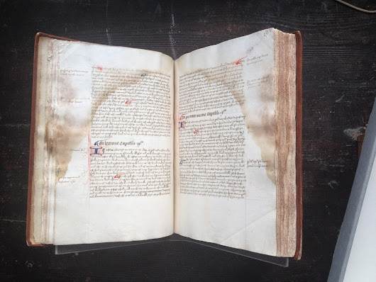 F. 172- A Middle English manuscript in Worcester Cathedral Library.