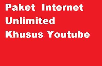 Kartu apa yang murah untuk menonton youtube Paket Internet  XL Murah Unlimited Youtube kartu XL sepuasnya Bebas Nonton Youtube