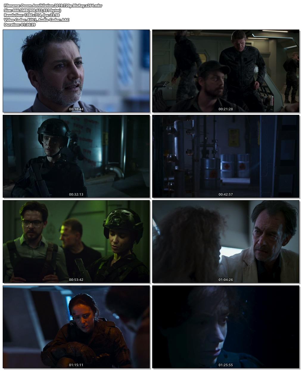 Doom Annihilation 2019 720p BluRay x264 | 480p 300MB | 100MB HEVC Screenshot