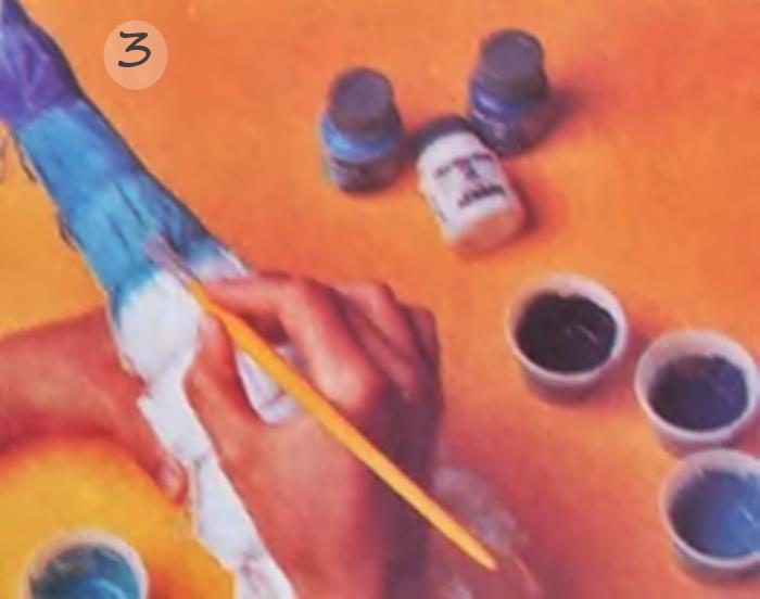 Fase três, pintura