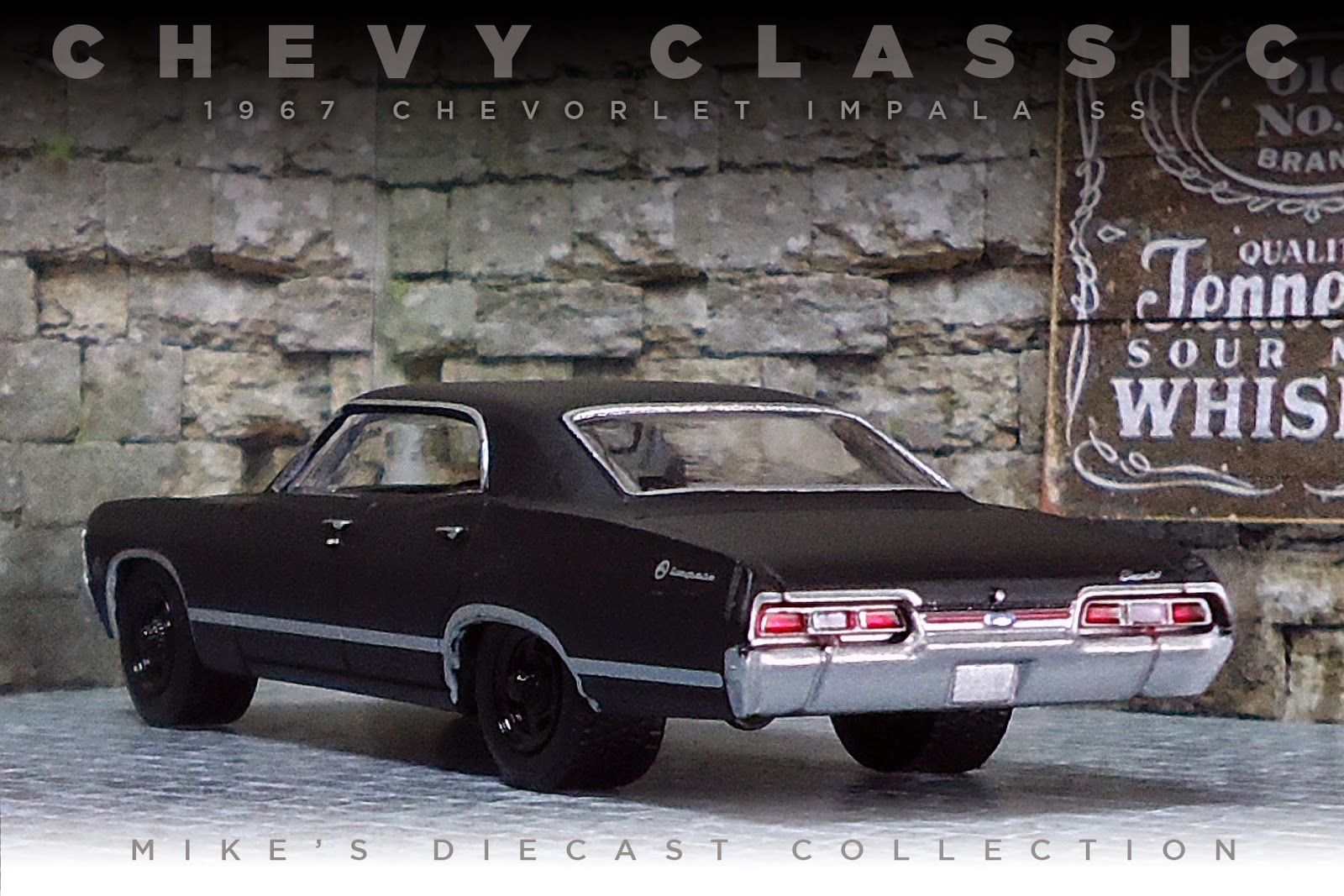 Mike's Diecast Collection: 1967 Chevrolet Impala SS 4door