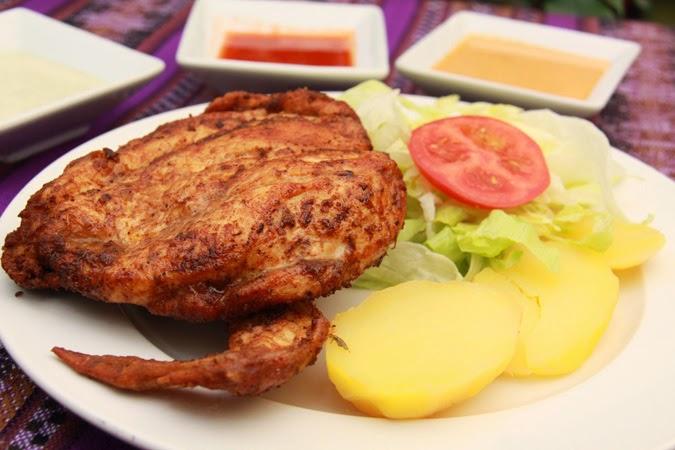 Recetas de cocina Pollada