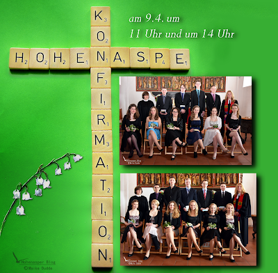 Collage Konfirmation