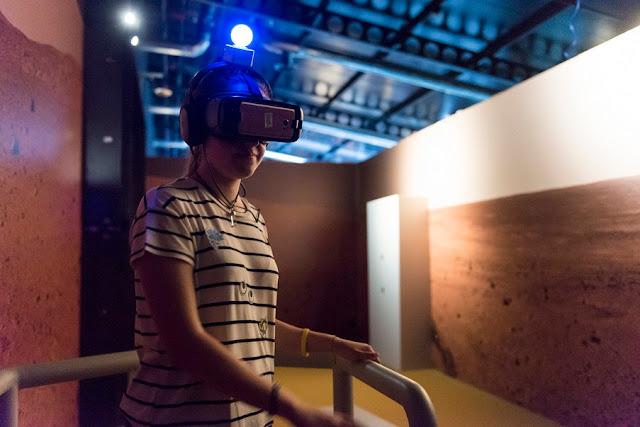 La exposición 'Marte. La conquista de un sueño' incorpora un módulo interactivo de realidad virtual