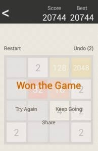 2048 - Hilarious Single user game on Android and PC