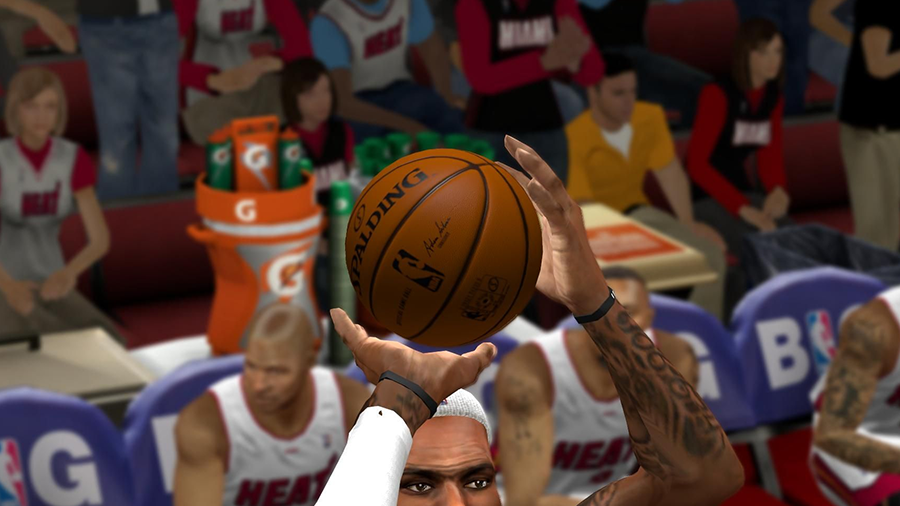 Hex-Edited NBA 2K14 Ball (Shader Effect)