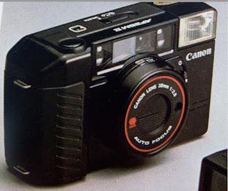 camara de visor directo canon analogica