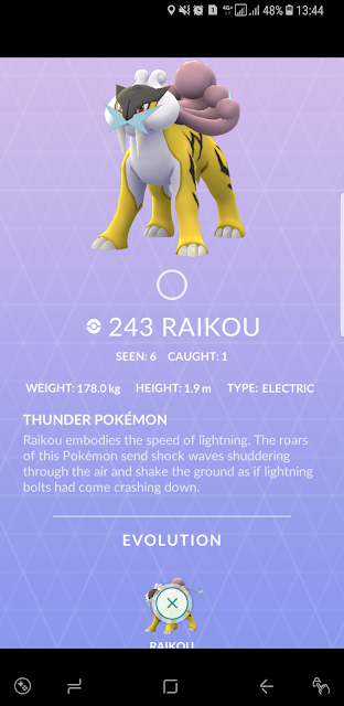 Joanne Wee's first Raikou