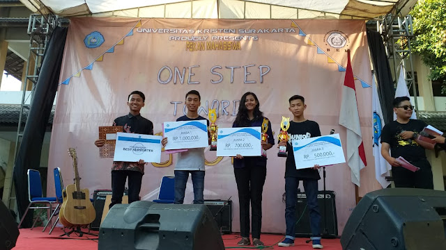 Band SMA Kristen Kalam Kudus Juara 1 Acoustic Festival and Competition