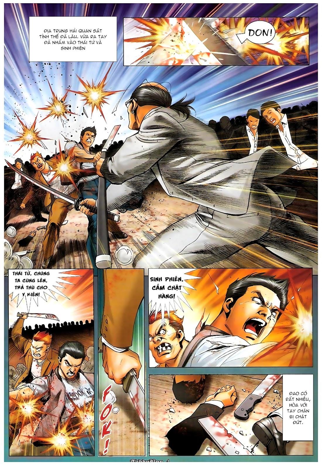 Người Trong Giang Hồ - Chapter 1226: Người thứ ba lên đường - Pic 3