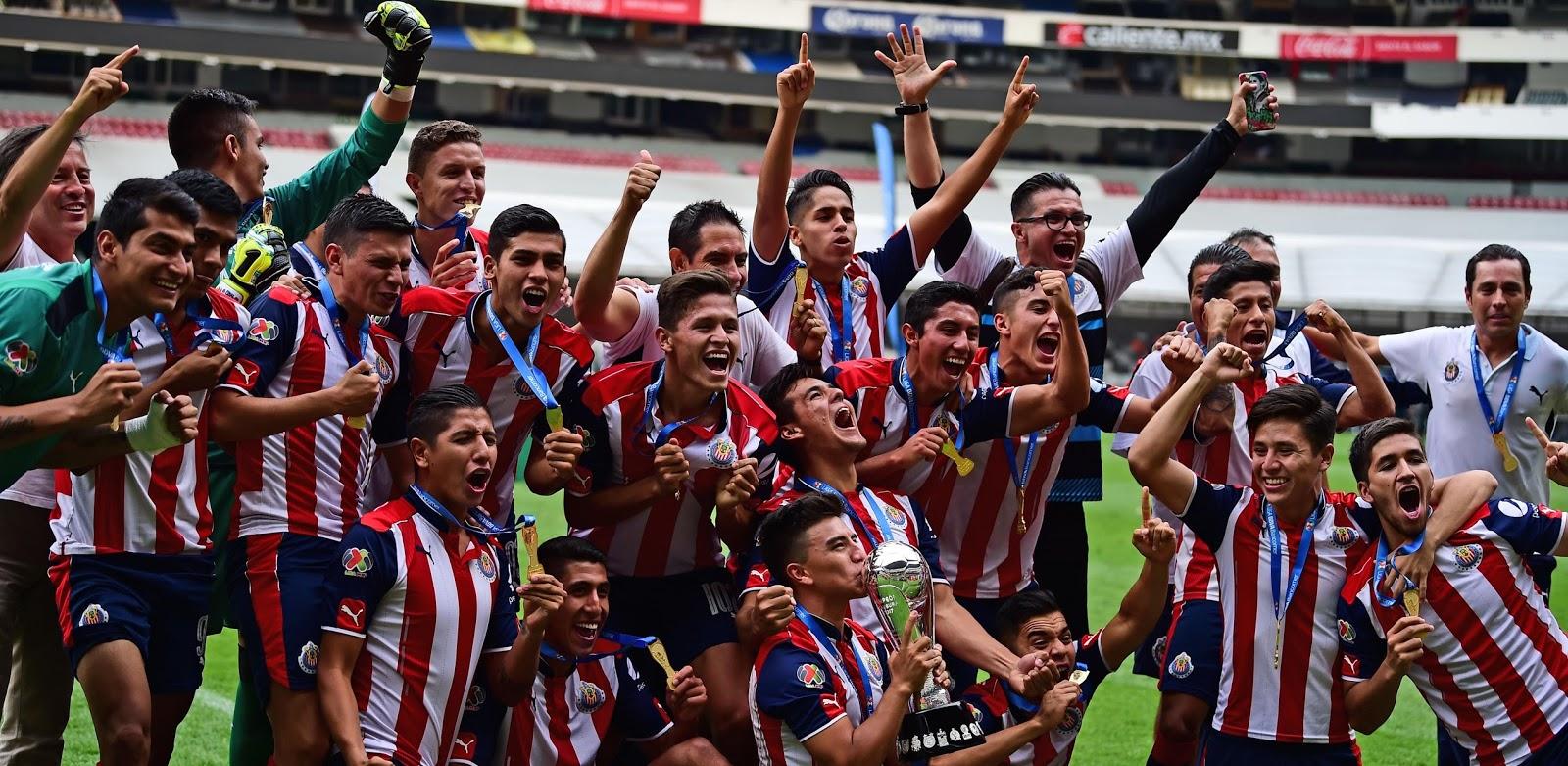 Campeones Sub-20.
