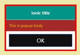 53) How to customize color and theme of ionic popup ~ CodeAndYou