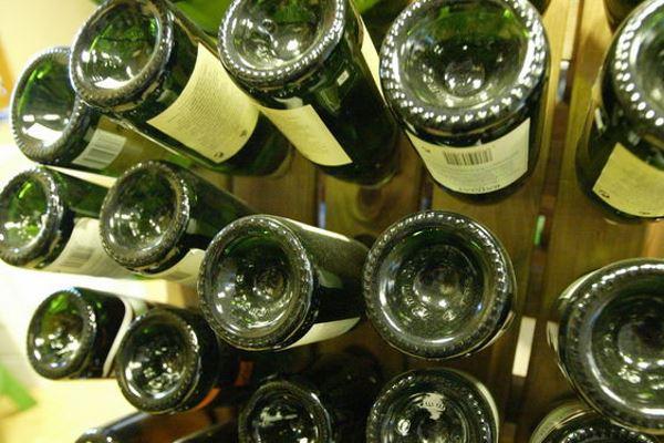 La forma de las botellas de vino no es casual