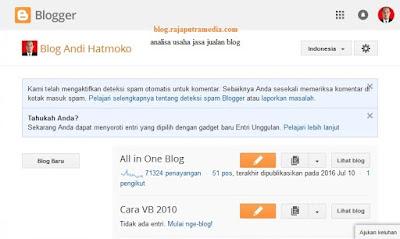 Analisa Usaha Jasa Jualan Blog