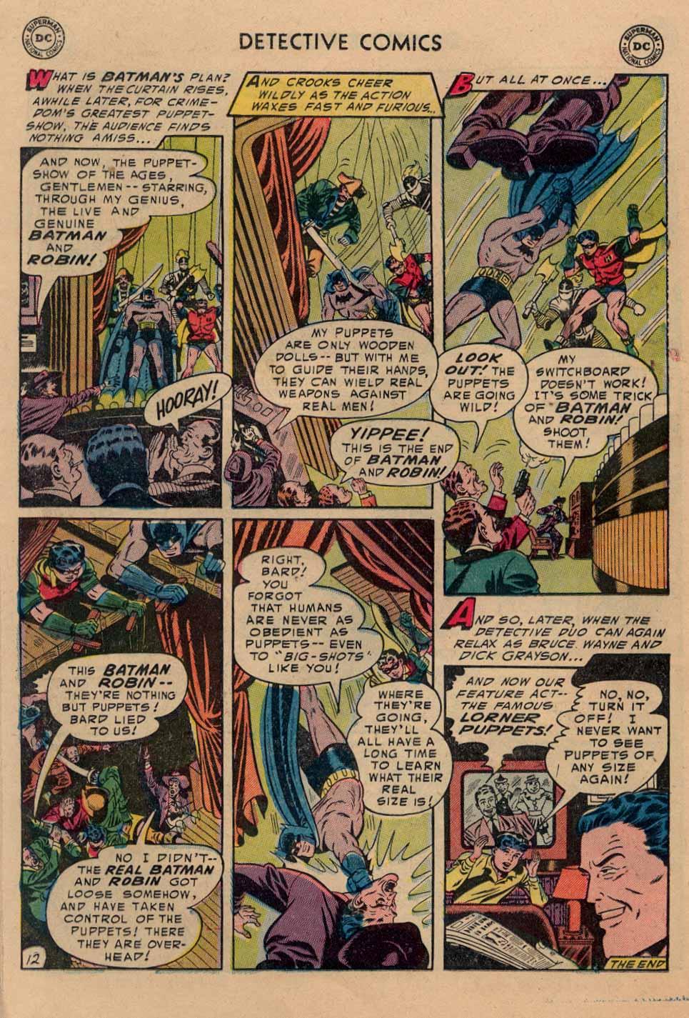 Read online Detective Comics (1937) comic -  Issue #212 - 13