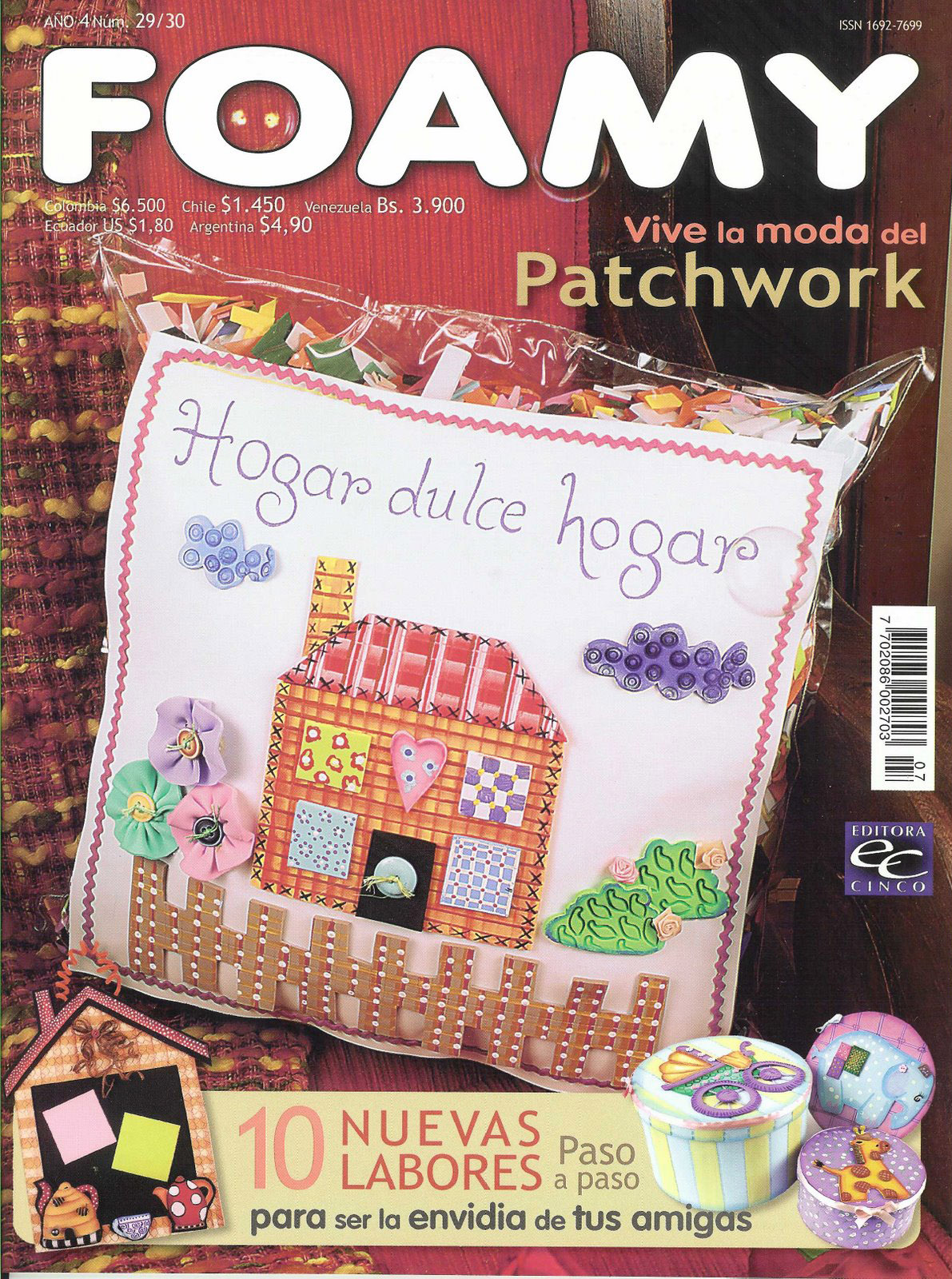 Labores Del Hogar Patchwork Foamy Nro 29 Patchwork Librosvirtual