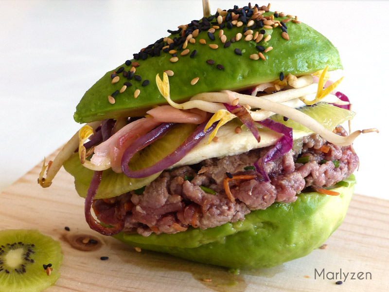Extrêmement Avocado burger | Marlyzen, cuisine revisitée ND04