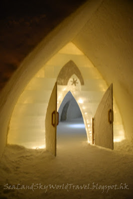 羅凡尼米, Rovaniemi, Arctic Snow Hotel, entrance