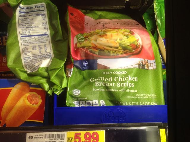 Grilled Chicken Strips, 22 oz - Kroger
