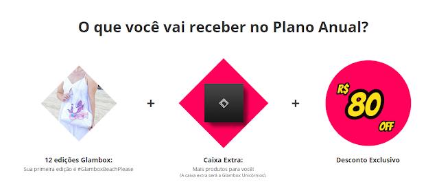 CAIXA EXTRA GLAMBOX