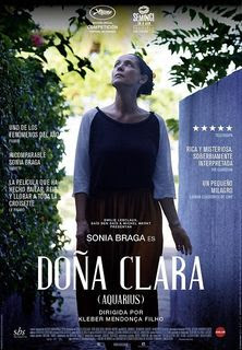 Cartel oficial español: Doña Clara (Aquarius)
