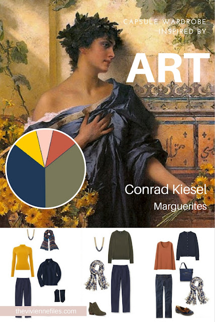 Build a Capsule Wardrobe by Starting with Art: Marguerites by Conrad Kiesel