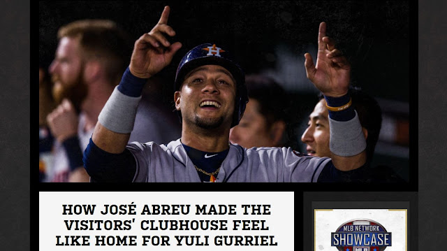 Una nota bastante curiosa del portal web La Vida Baseball revela una historia cómica entre José Abreu y Yulieski Gurriel.