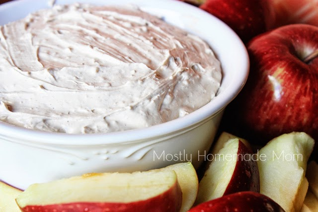 Autumn Cheesecake Dip {Mostly Homemade Mom}