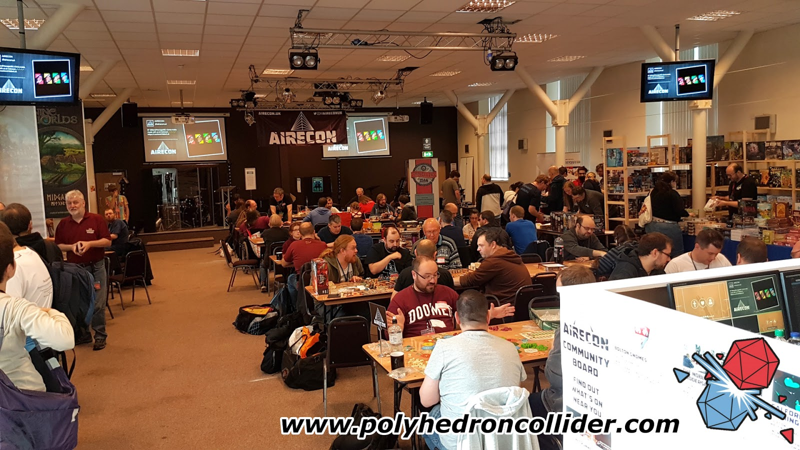 Airecon board game convention 2016