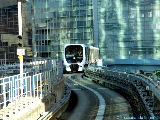 Monorraíl a Odaiba