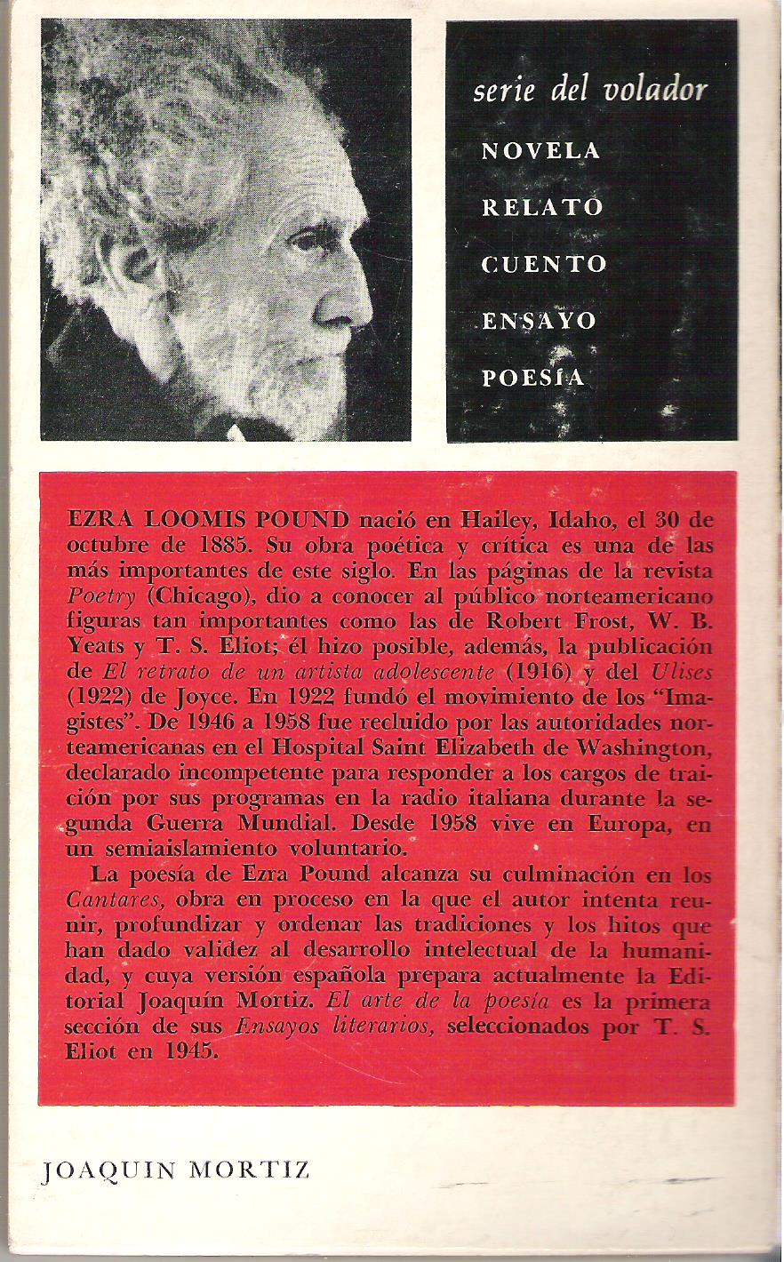 literary essays of ezra pound new directions