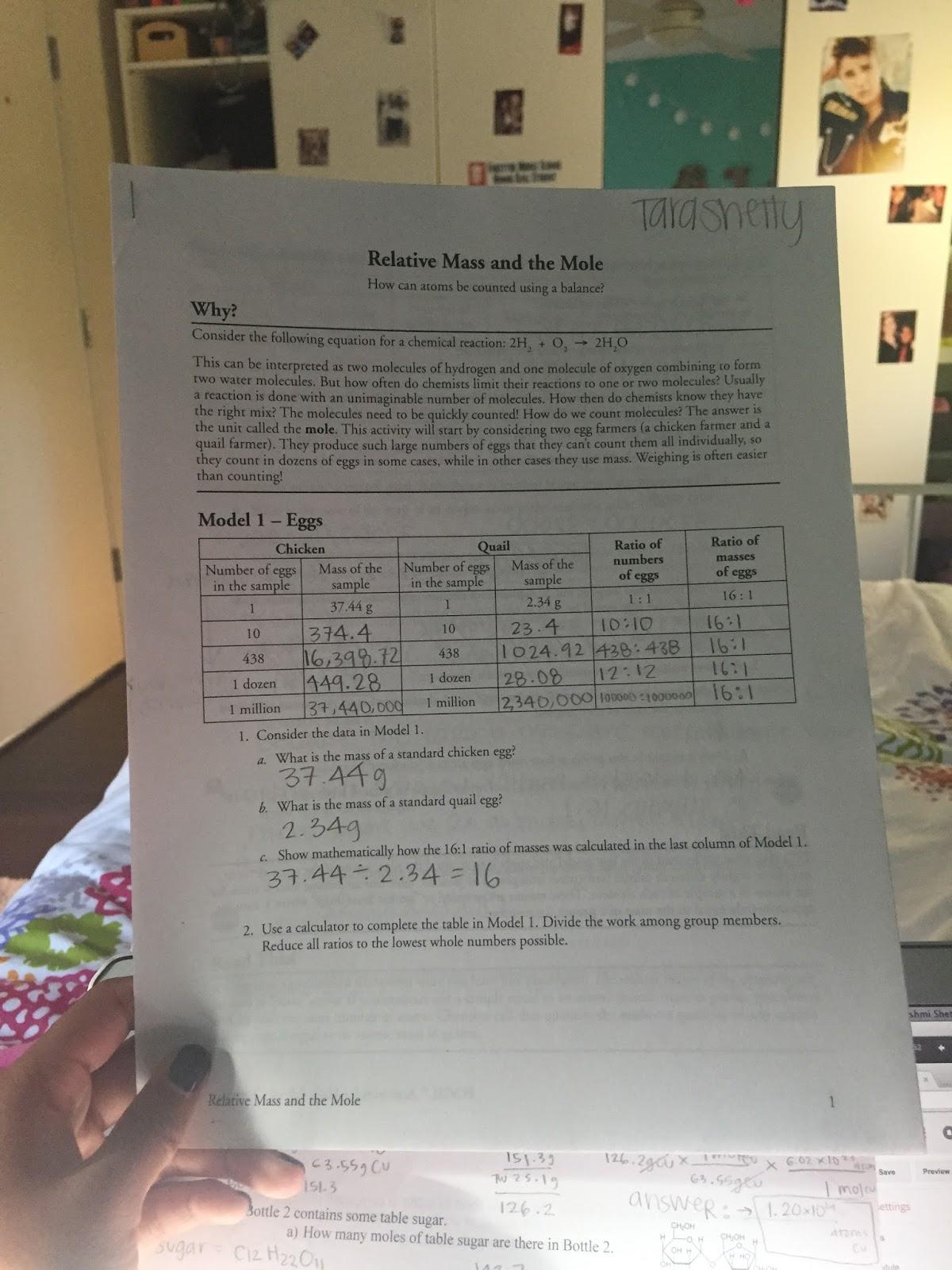Tara Shetty Sg Chem 2a October