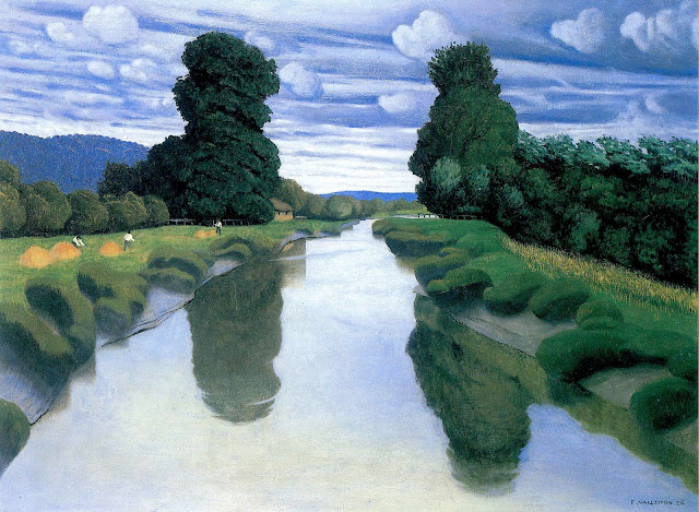 Felix Vallotton painting of a river