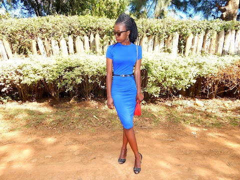 Blue Bodycon