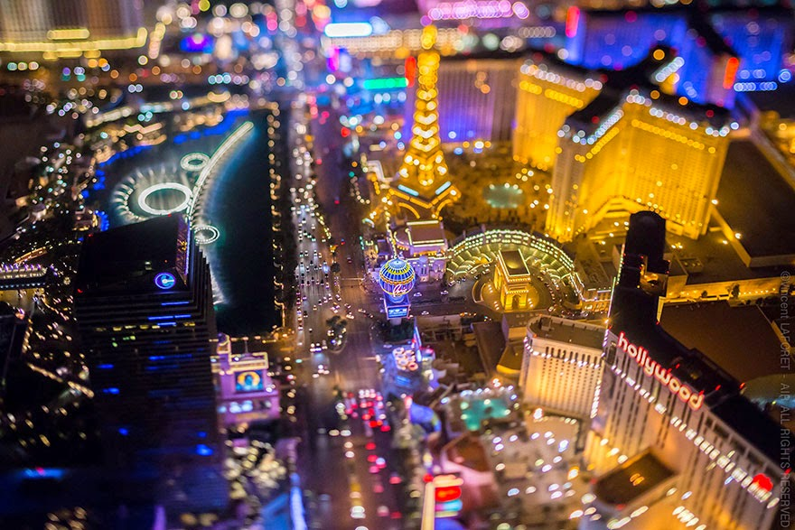 Las Vegas From 10,800 Feet Up Looks Like Nothing You've Seen Before