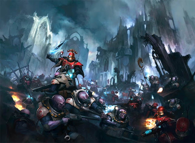 Adeptus Mechanicus vs Cultos Genestealer